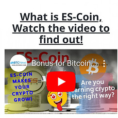 What is Es coin video pic